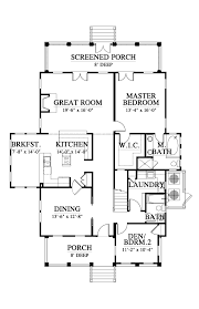 Holiday House Floor Plans by The Eden House Plan C0231 Design From Allison Ramsey Architects