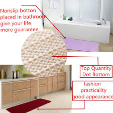 120x40cm absorbent anti skid memory foam mat coral velvet bath rug