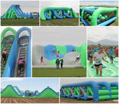 insane inflatable 5k obstacle fun run 2016 in east falmouth ma