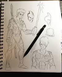 kid sketches may 2017