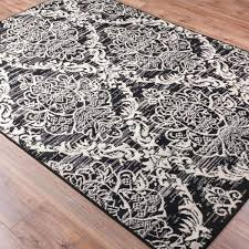 Damask Kitchen Rug Fashionable Black And White Damask Rug Stylish Damask Bath Rug