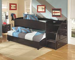 Bedroom Bed Furniture by Bunk Beds Kids Sleep Is A Parents Dream Ashley Furniture Homestore