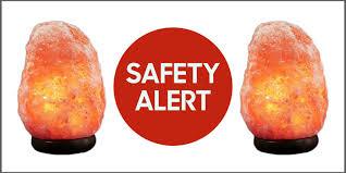 himalayan salt himalayan rock salt lamps recalled due to fire risk dangers of
