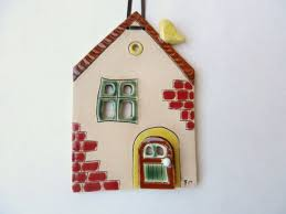 106 best small ceramic houses images on clay houses