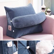 sofa bed office chair cushion adjustable neck support back wedge