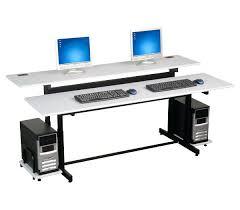 computer desk for 2 monitors desk for dual monitors dual monitor desk dual monitor mounts office