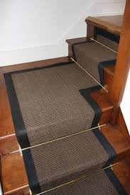 Stairs Rug Runner Hardwood Stairs Carpet Runner Wooden Stairs With Dark Carpet And