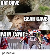 bat cave bear cave pain cave paincave bear meme on me me