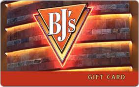 restaurant gift card bjs restaurant egift card email delivery gift card mall