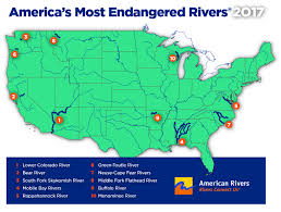 South America Rivers Map by American Rivers Announces America U0027s Most Endangered Rivers Of