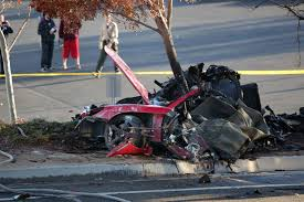 porsche gt crash actor paul walker 40 and racer roger rodas 38 dead in fiery