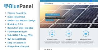 bluepanel corporate html template html bootstrap template