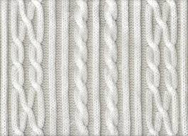 knitted white texture with a pattern stock photo picture and