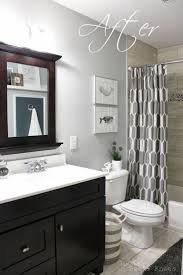 Paint Ideas For A Small Bathroom Fascinating Fancy Plush Design Gray Bathroom Wall Decoration Ideas