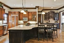 kitchen island with bench seating wood legs kitchen sink brick