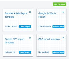 seo monthly report template reporting software
