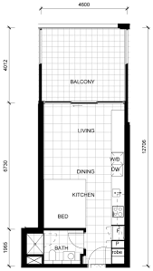 apartment plan typ with concept picture 3176 fujizaki