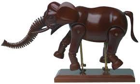 wooden manikins creative artist wooden manikin 16 20 elephant animal mannequin