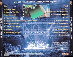 Royal Albert Hall Floor Plan by Yes Royal Albert Hall 2014 2cdr U2013 Giginjapan
