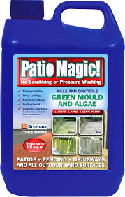 Moss Cleaner For Patios Brintons Patio Magic Concentrate Patio U0026 Driveway Cleaner 2 5l