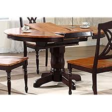 Butterfly Leaf Dining Room Table Amazon Com Round Table With Butterfly Leaf Tables
