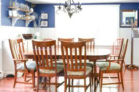 Navy Blue Dining Room Makeover I Am A Homemaker - Dining room makeover