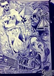 lowrider arte drawings tatto chicano art drawings lowrider arte