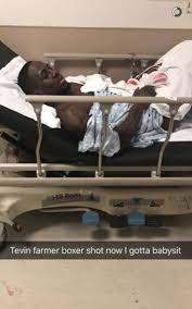 handcuffed to bed tevin farmer reportedly shot handcuffed in hospital bed