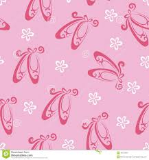 ballet shoes pattern stock vector image 40271904
