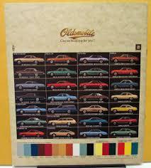 oldsmobile dealer prestige sales brochure toronado 98 delta 88 wagon