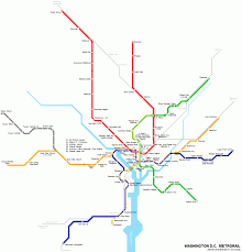 Washington Subway Map by Washington Metro Map Travel Map Vacations Travelsfinders Com