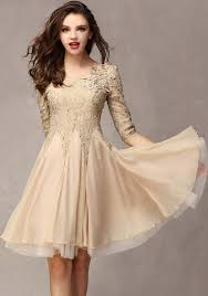 white lace dress with sleeves knee length khaki patchwork ruffle 3 4 sleeve knee length lace dress mini