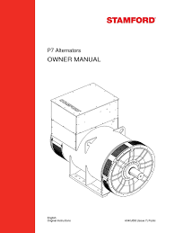 p7 alternators owner manual hvac electromagnetic compatibility