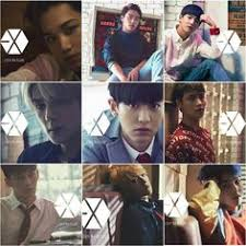 exo japan album the elements of water frost exo xiumin suho exo pinterest