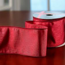 burgundy wired ribbon shiny burgundy wired ribbon ribbon and trims craft supplies