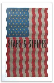 American Flag In Text Work Studio Hinrichs