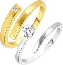 golden couple rings images Love couple rings buy love couple rings online at best prices in jpeg