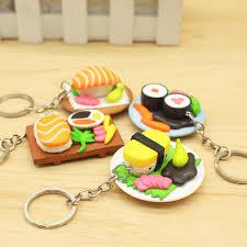 simulation cuisine trendy simulation of japanese cuisine plastic keychain