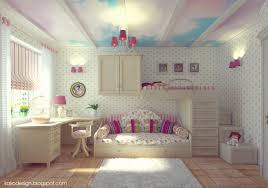 attractive girls room decor which applying pink color accent
