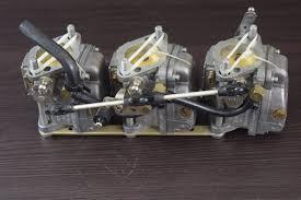 rebuilt 1991 1997 mercury carburetor set wme 43 821679a17 45 jet