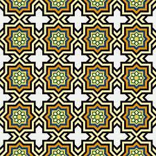 islam style background geometric seamless pattern islamic