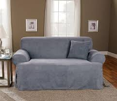 Loveseat Slipcovers With Two Cushions Slipcovers For Sofas With Cushions Separate Sofa Slipcovers