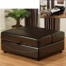 Ottoman Sleepers Costco Lido Bicast Leather Hide A Bed Ottoman Cool For Guests