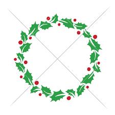 christmas mistletoe christmas mistletoe wreath for monogram sofontsy