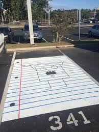 Doodlebob Meme - my school s parking lot has spongebob doodlebob drawn in one of the