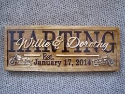 custom wedding presents personalized family name signs custom wedding gift carved wooden