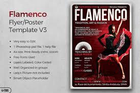 flamenco flyer template v3 by tdstore design bundles
