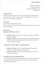 Simple Resume For College Student Free Student Resume Resume Template And Professional Resume