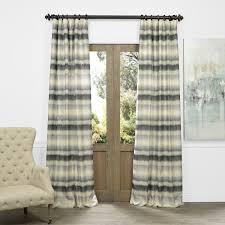 exclusive fabrics sunset horizontal stripe faux silk jacquard