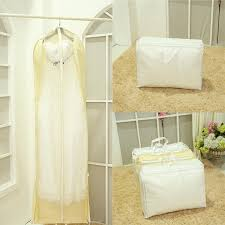 wedding dress garment bag 180cm 2 in 1 wedding dress bags clothes cover dust cover